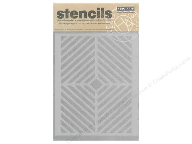 Hero Arts Accessories Clearly Kelly Stencil Window Pane