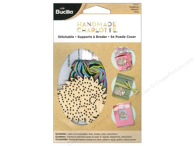 Bucilla Stitchable Wood Hedgehog Kit