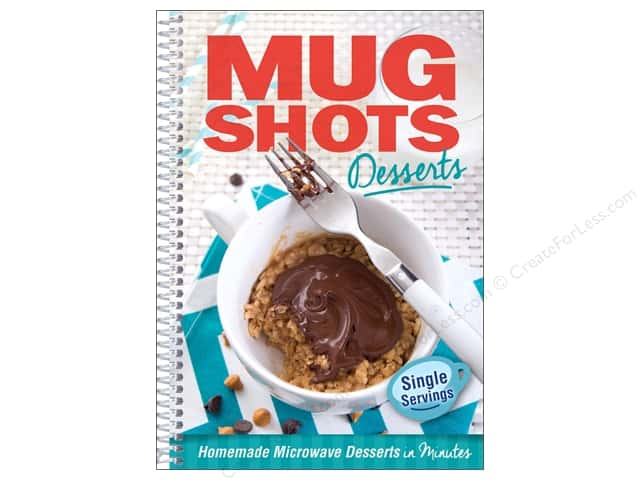 CQ Products Mug Shots Desserts Book