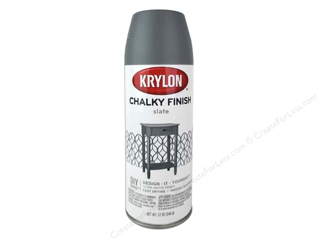 Krylon Chalky Finish Paint 12 oz. Slate