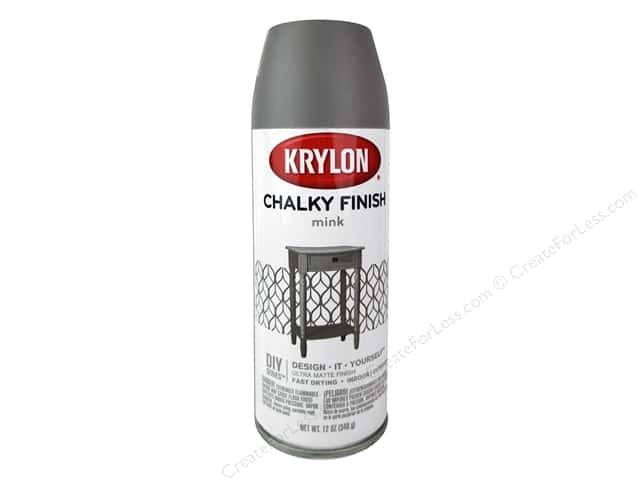 Krylon Chalky Finish Paint 12 oz. Mink