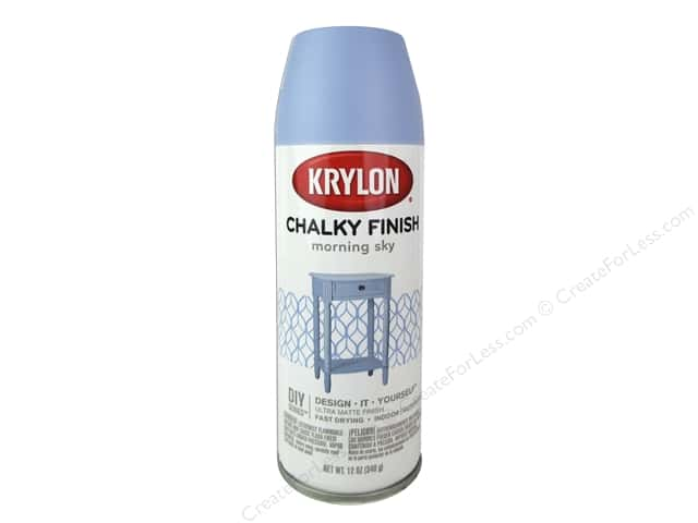 Krylon Chalky Finish Paint 12 oz. Morning Sky