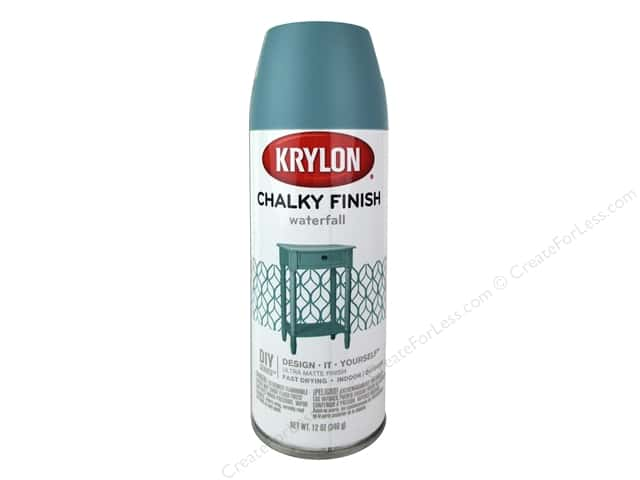 Krylon Chalky Finish Paint 12 oz. Waterfall