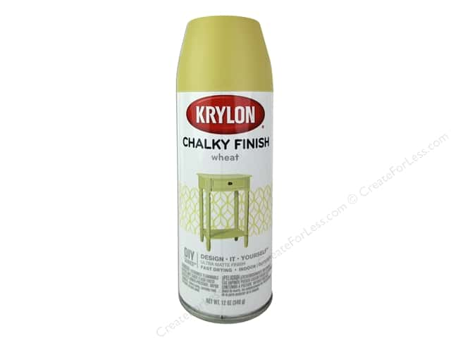 Krylon Chalky Finish Paint 12 oz. Wheat
