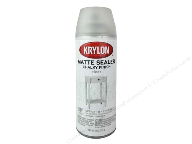 Krylon Chalky Finish Paint Sealer 11 oz. Matte Clear