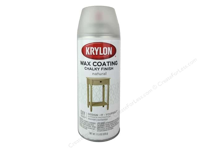 Krylon Chalky Finish Wax Coating 11.5 oz. Natural