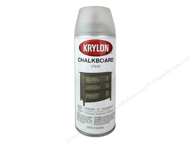 Krylon Chalk Board Paint 12 oz. Clear