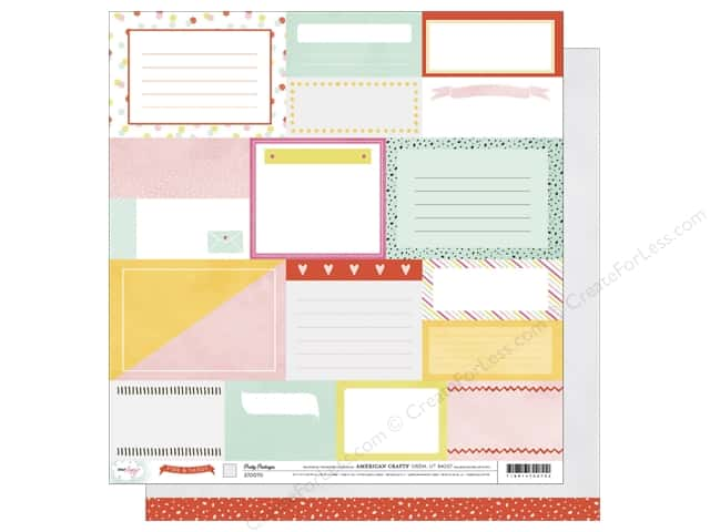 American Crafts 12 x 12 in. Paper Dear Lizzy Fine & Dandy Pretty Packages (25 sheets)
