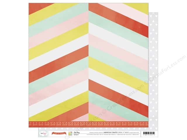 American Crafts 12 x 12 in. Paper Dear Lizzy Fine & Dandy Let's Party (25 sheets)