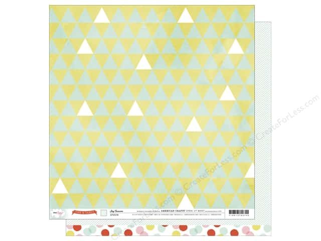 American Crafts 12 x 12 in. Paper Dear Lizzy Fine & Dandy Stay Awesome (25 sheets)