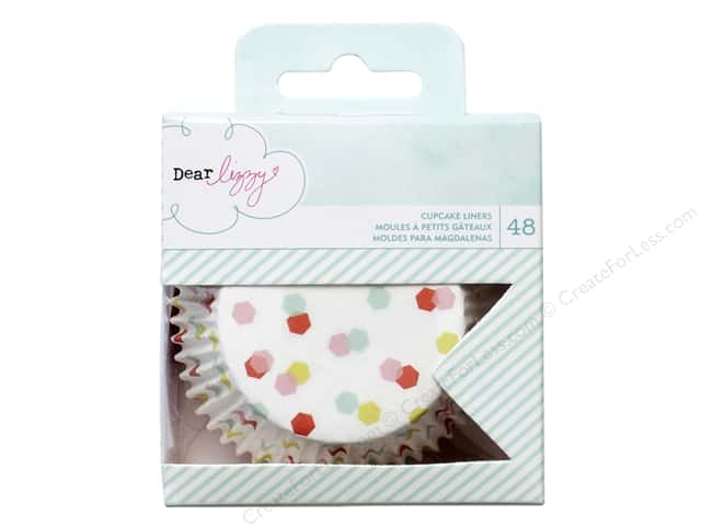 American Crafts Cupcake Liners Dear Lizzy Fine & Dandy