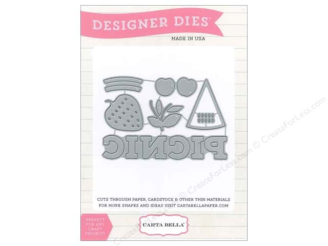 Carta Bella Designer Dies Soak Up The Sun Picnic