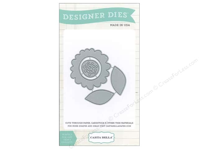Carta Bella Designer Dies Soak Up The Sun Dotted Flower