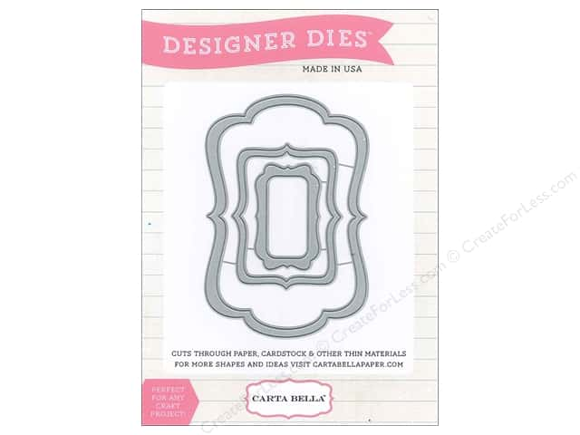 Carta Bella Designer Dies Soak Up The Sun Label Set #4