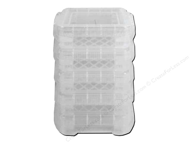 Storage Studios Super Stacker Bitty Box 5 pc. Clear