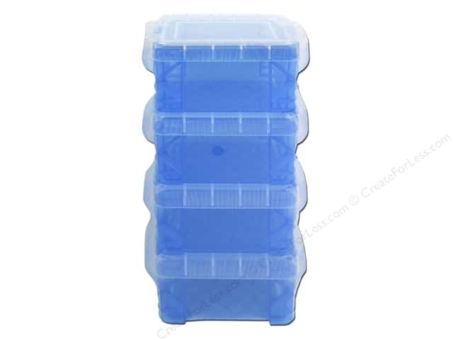 Storage Studios Super Stacker Pixie Box 4 pc. Blue