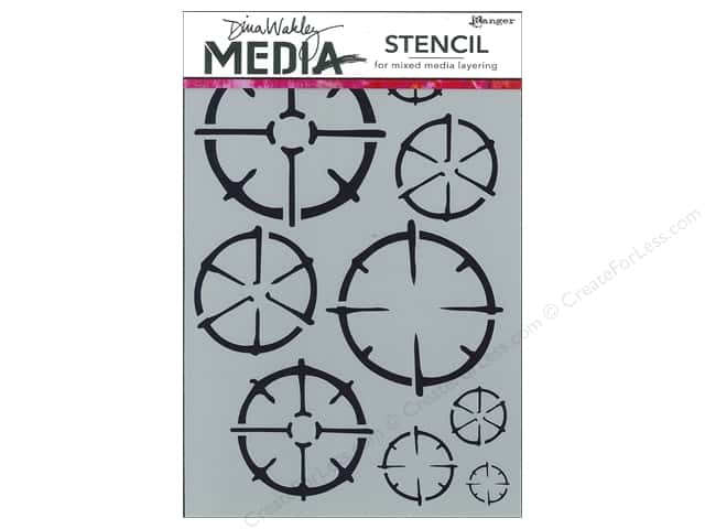 Ranger Stencil Dina Wakley Media Wheels