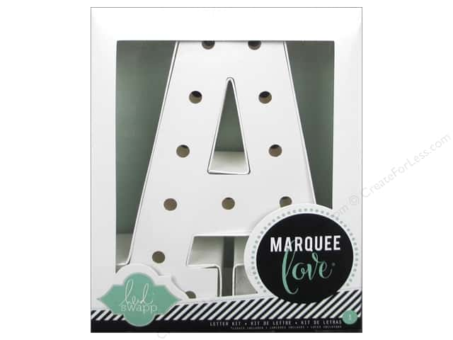 "Heidi Swapp Marquee Love Letter Kit 8 1/2 in. ""A"""