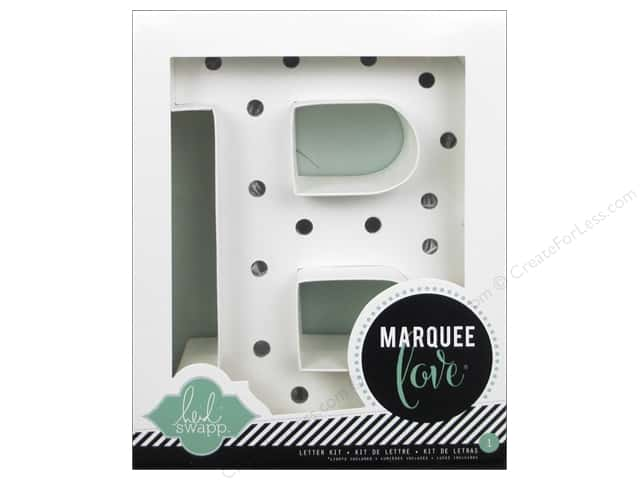"Heidi Swapp Marquee Love Letter Kit 8 1/2 in. ""B"""