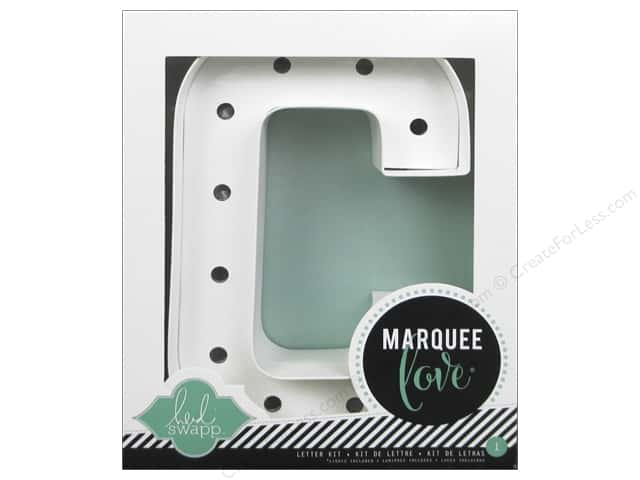 "Heidi Swapp Marquee Love Letter Kit 8 1/2 in. ""C"""