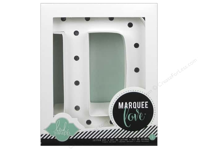 "Heidi Swapp Marquee Love Letter Kit 8 1/2 in. ""D"""