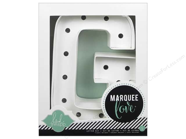 "Heidi Swapp Marquee Love Letter Kit 8 1/2 in. ""G"""