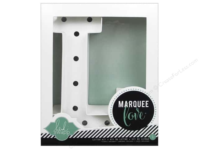 "Heidi Swapp Marquee Love Letter Kit 8 1/2 in. ""L"""