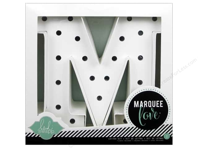 "Heidi Swapp Marquee Love Letter Kit 8 1/2 in. ""M"""