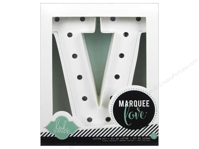 "Heidi Swapp Marquee Love Letter Kit 8 1/2 in. ""V"""
