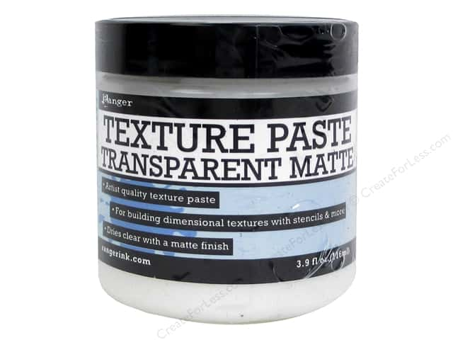 Ranger Texture Paste 3.9 oz. Transparent Matte