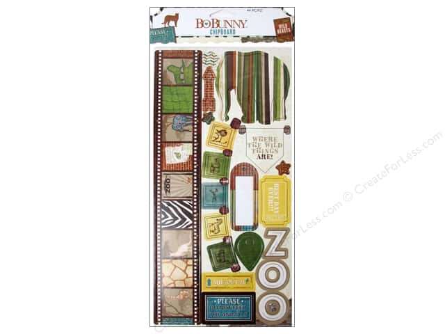 Bo Bunny Chipboard Safari