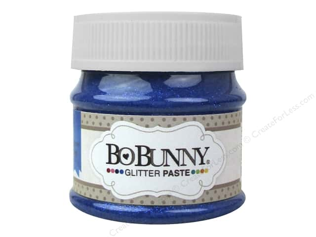 Bo Bunny Glitter Paste 1.69 oz. Blueberry
