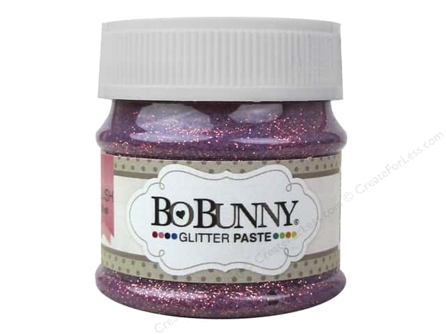 Bo Bunny Glitter Paste 1.69 oz. Blush