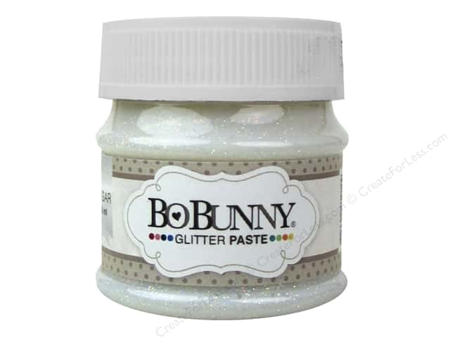 Bo Bunny Glitter Paste 1.69 oz. Sugar