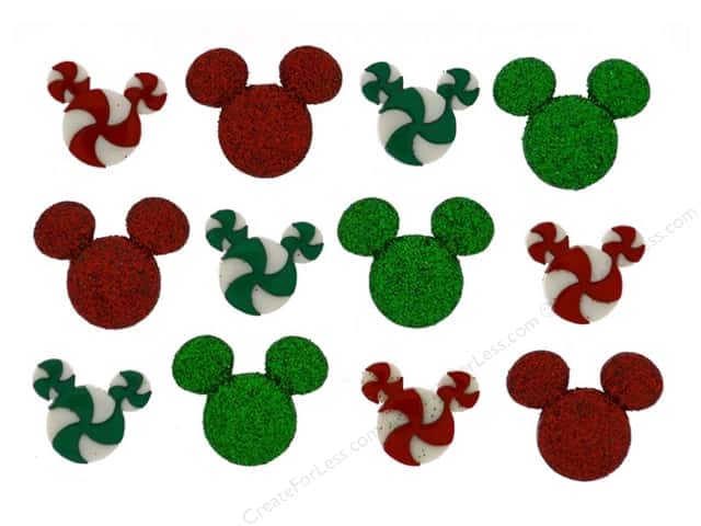 Jesse James Dress It Up Embellishments Disney Holiday Candies