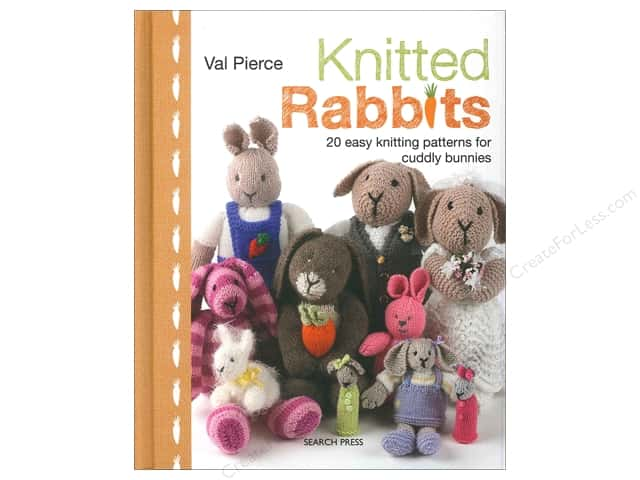 Search Press Knitted Rabbits Book