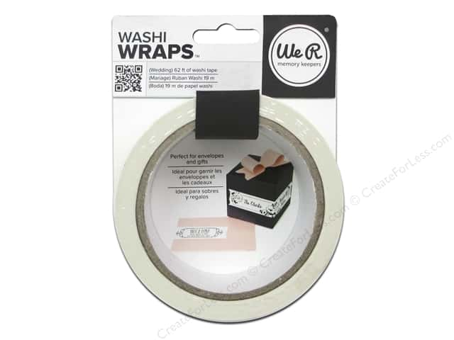 We R Memory Keepers Washi Wraps Wedding