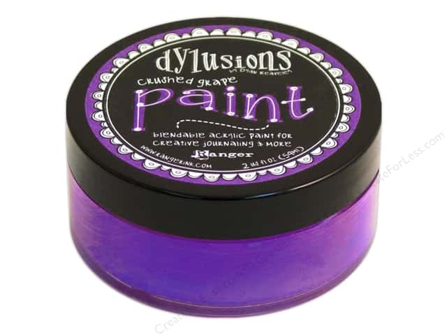Ranger Dylusions Paint 2 oz. Crushed Grape