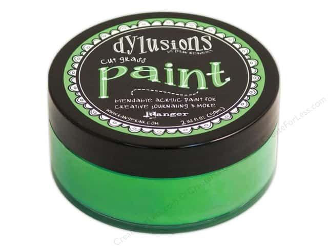Ranger Dylusions Paint 2 oz. Cut Grass