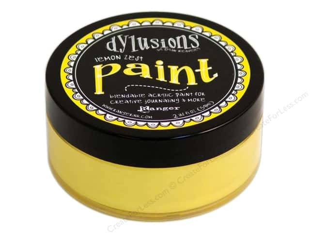 Ranger Dylusions Paint 2 oz. Lemon Zest