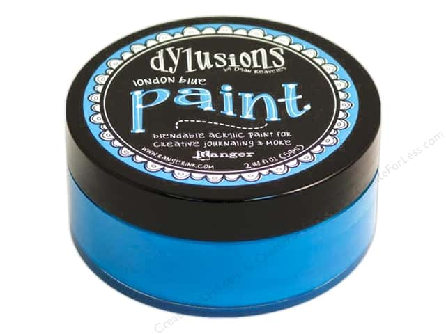 Ranger Dylusions Paint 2 oz. London Blue