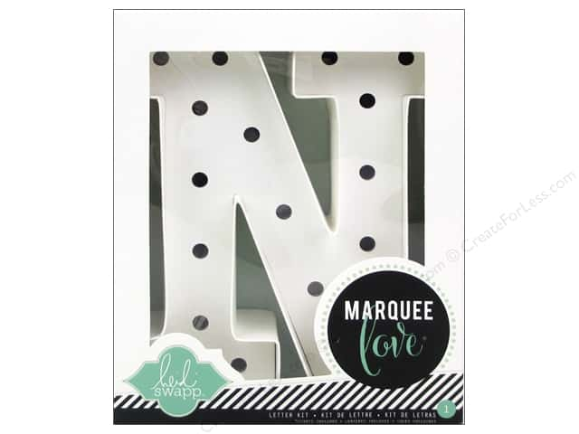 "Heidi Swapp Marquee Love Letter Kit 8 1/2 in. ""N"""
