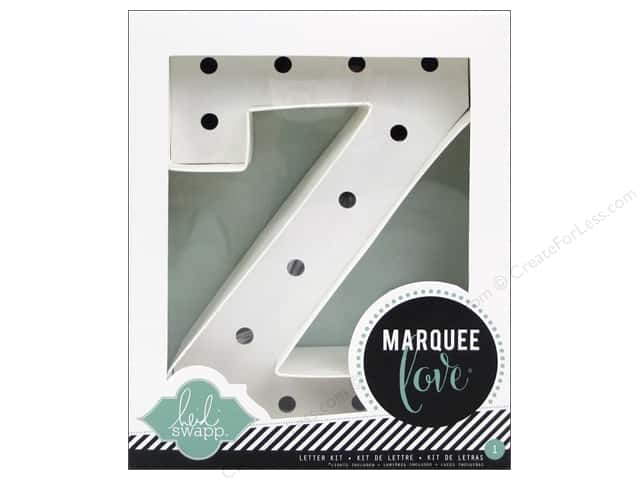 "Heidi Swapp Marquee Love Letter Kit 8 1/2 in. ""Z"""