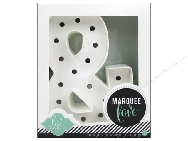 "Heidi Swapp Marquee Love Ampersand ""&"" Kit 8 1/2 in."