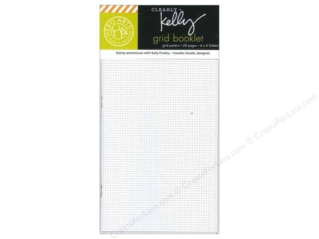 "Hero Arts Accessories Clearly Kelly Wallet Grid Booklet 4""x 6"""