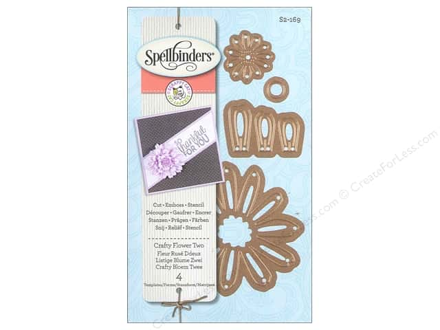 Spellbinders D-Lites Die Crafty Flower Two