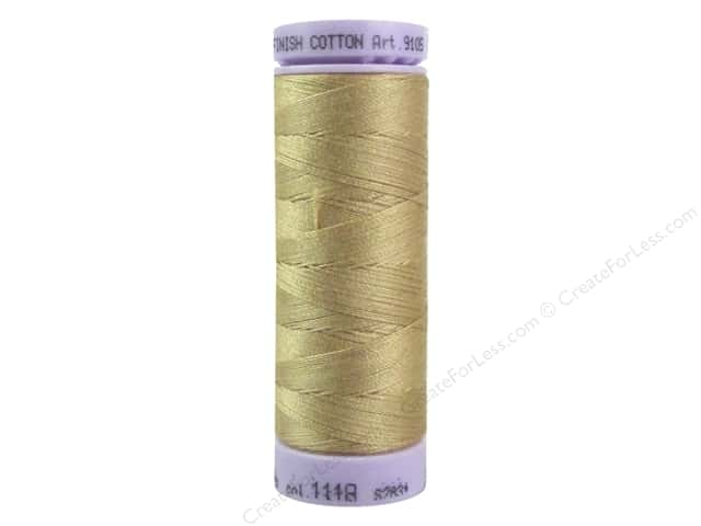 Mettler Silk Finish Cotton Thread 50 wt. 164 yd. #1118 Toast