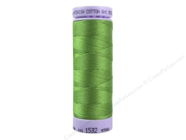 Mettler Silk Finish Cotton Thread 50 wt. 164 yd. #1532 Foliage