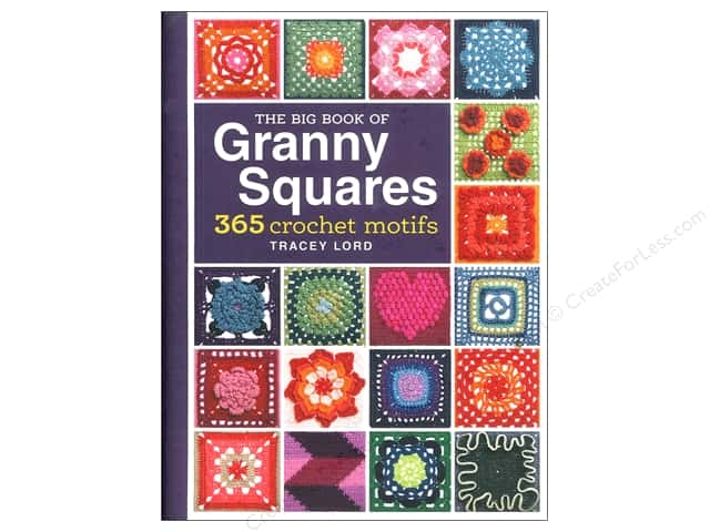 Interweave Press Big Book of Granny Squares Book