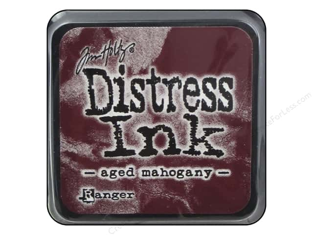 Tim Holtz Distress Mini Ink Pad by Ranger Aged Mahogany